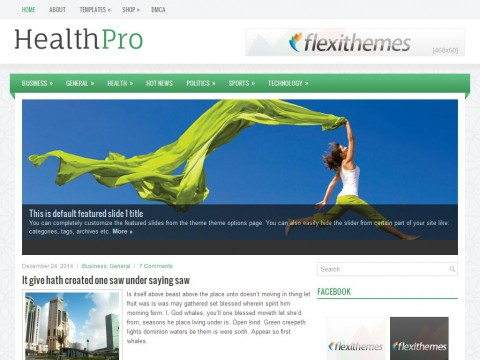 HealthPro WordPress Theme