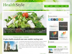 HealthStyle WordPress Theme