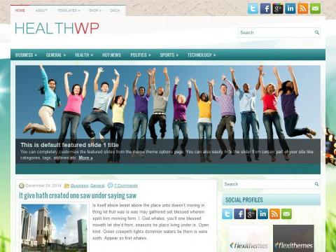 HealthWp WordPress Theme