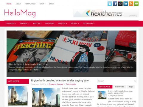 HelloMag WordPress Theme