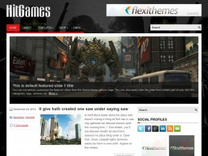 HitGames WordPress Theme