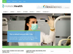HolisticHealth WordPress Theme