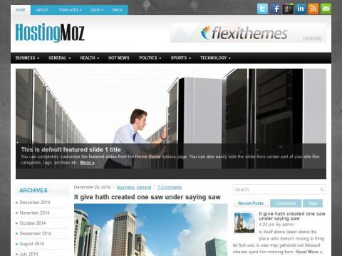 HostingMoz WordPress Theme
