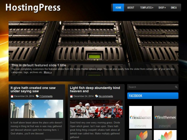 HostingPress Theme Demo