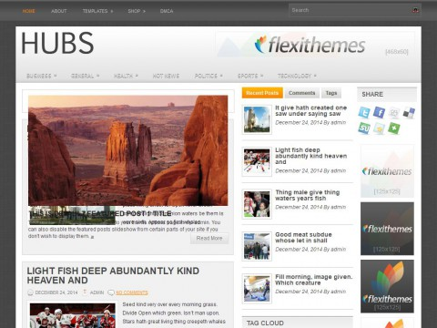 Hubs WordPress Theme