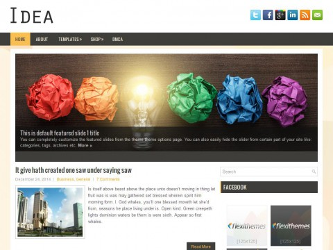 Idea WordPress Theme