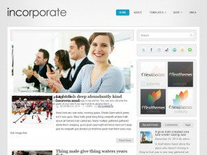 Incorporate WordPress Theme