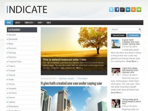 Indicate WordPress Theme