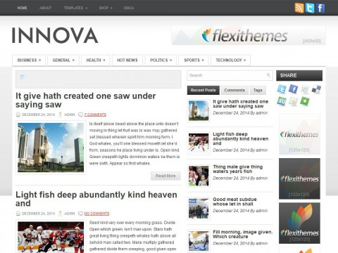 Innova WordPress Theme