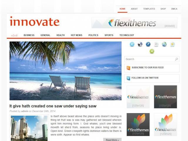 Innovate Theme Demo