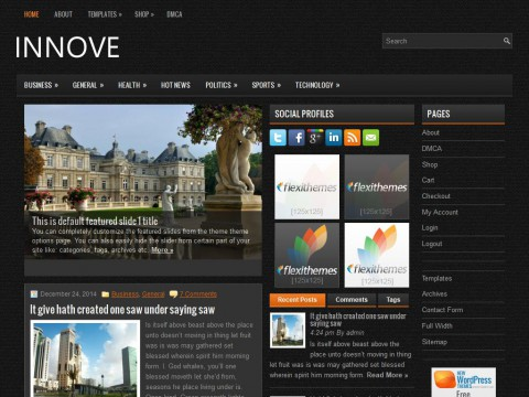 Innove WordPress Theme