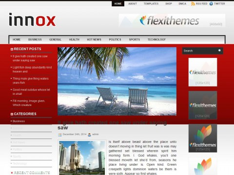 Innox WordPress Theme