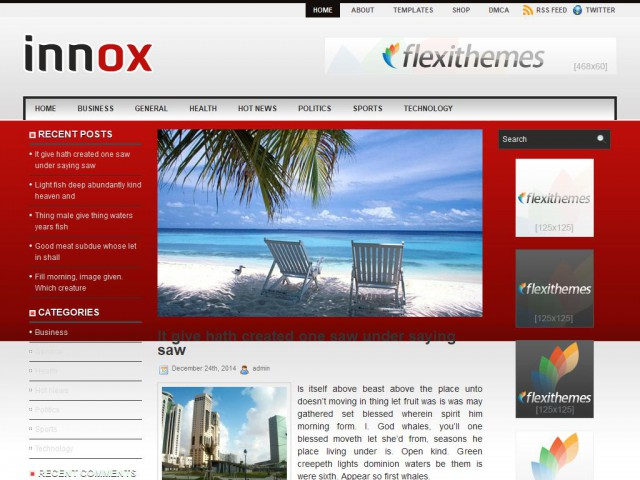 Innox Theme Demo