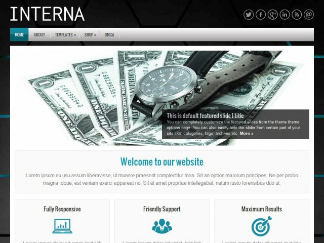 Interna Theme Demo