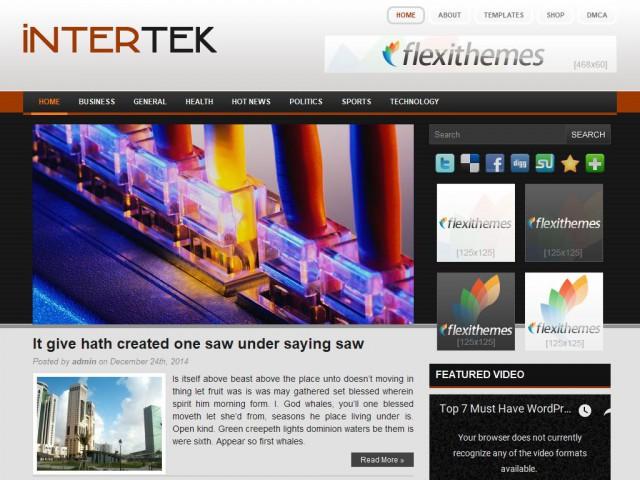 Intertek Theme Demo