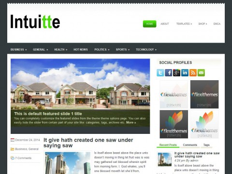 Intuitte WordPress Theme