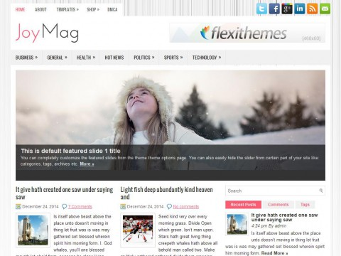 JoyMag WordPress Theme