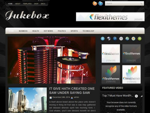 Jukebox WordPress Theme