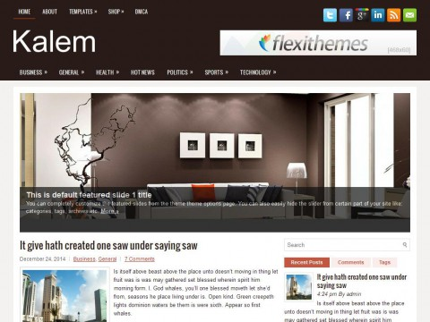 Kalem WordPress Theme