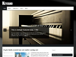 Keyiano WordPress Theme