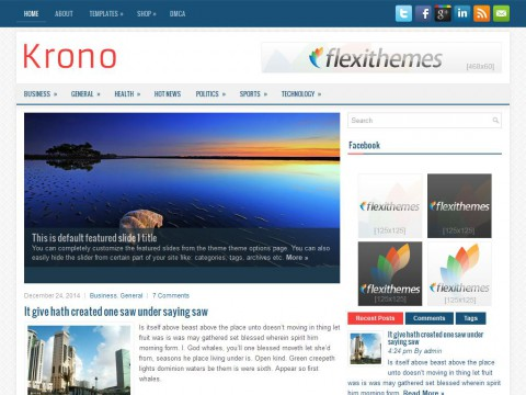 Krono WordPress Theme