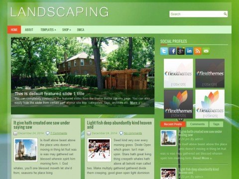 Permanent Link to Landscaping