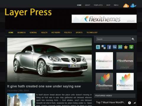 Layer Press WordPress Theme
