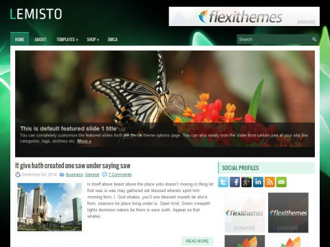 Lemisto WordPress Theme