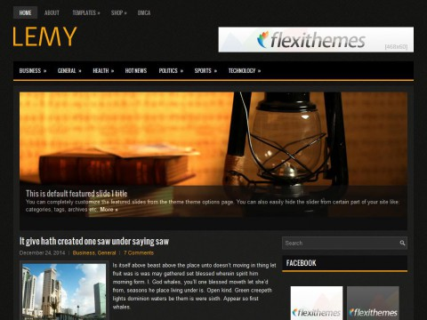 Lemy WordPress Theme