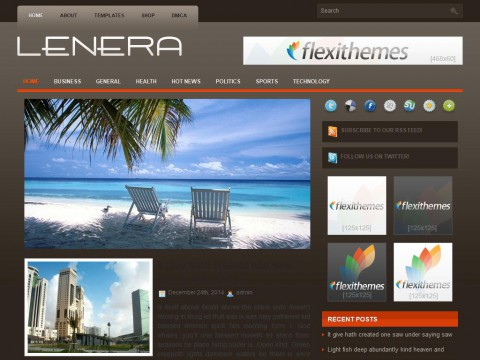 Lenera WordPress Theme