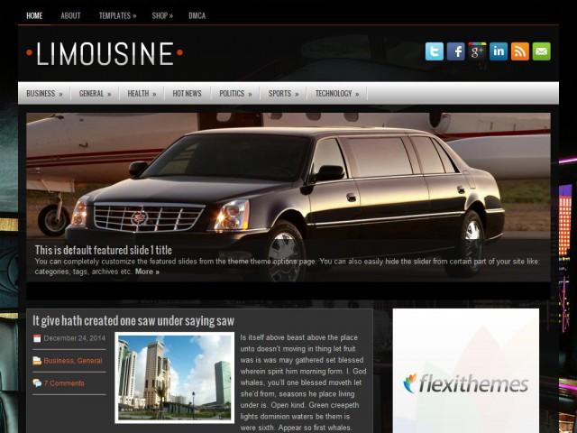 Limousine Theme Demo