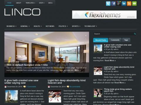 Linco WordPress Theme