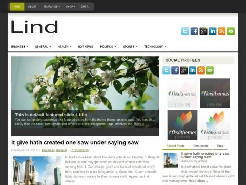 Lind WordPress Theme