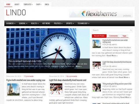 Lindo WordPress Theme
