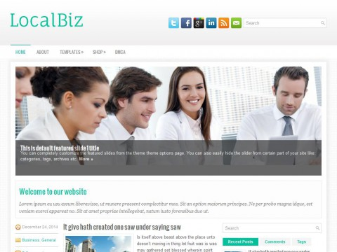 LocalBiz WordPress Theme