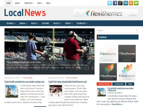 LocalNews WordPress Theme