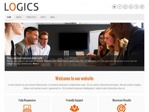 Logics WordPress Theme