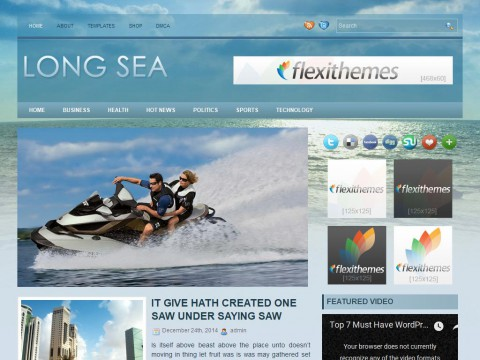 LongSea WordPress Theme