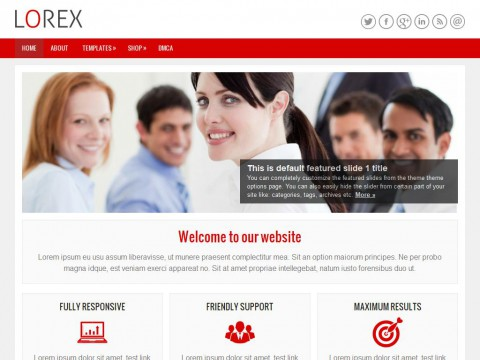 Lorex WordPress Theme