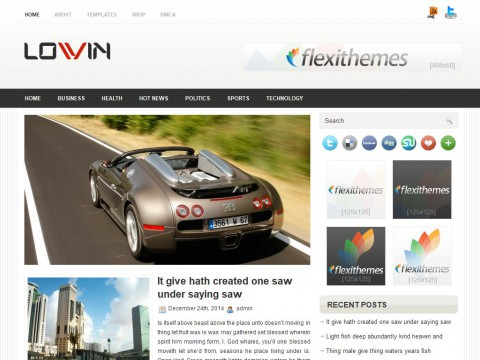 Lovin WordPress Theme