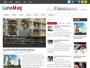 LunaMag WordPress Theme