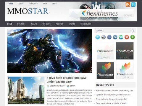 MMOStar WordPress Theme