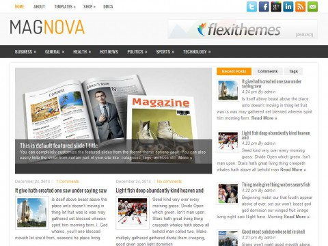 MagNova WordPress Theme