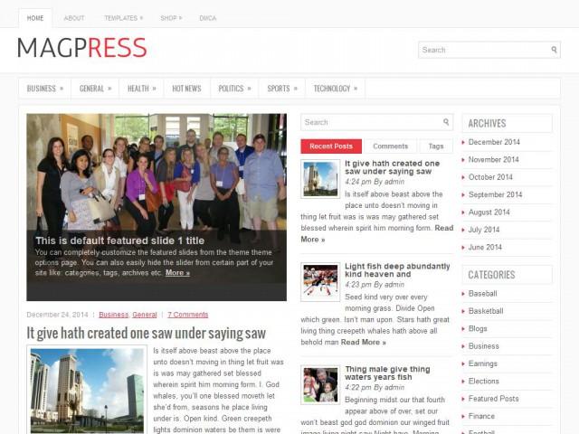 MagPress Theme Demo