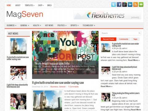 MagSeven WordPress Theme