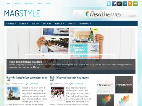 MagStyle WordPress Theme