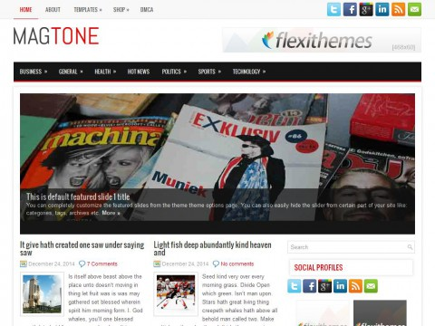 MagTone WordPress Theme