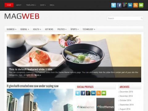 MagWeb WordPress Theme