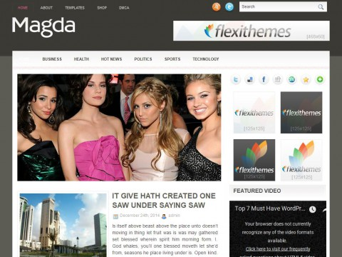 Magda WordPress Theme