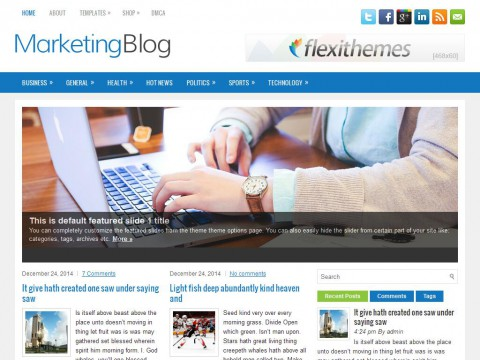 MarketingBlog WordPress Theme